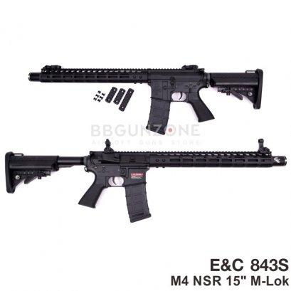 """E&C 843S M4 NSR 15"""" M-LOK Gen3"""