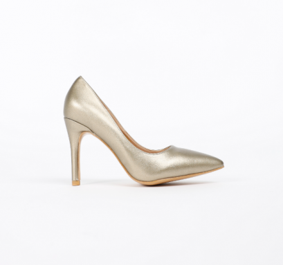 KATE Gold Pumps Shoes