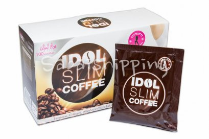 6 Box IDOL SLIM COFFEE Weight Loss Diet Drink SLIMMING L-Carnitine Collagen