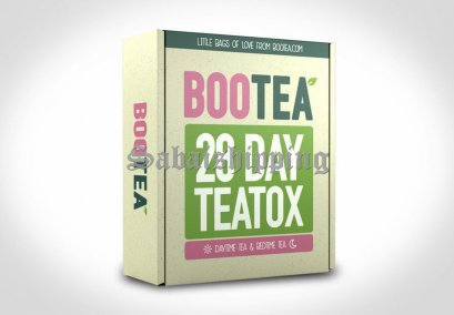 6 Set BOOTEA 28 DAY THE TEATOX FOR WEIGHT LOSS DAYTIME DETOX & BEDTIME CLEANSE SET
