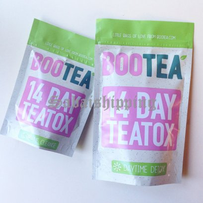 6 Set BOOTEA 14 DAY THE TEATOX FOR WEIGHT LOSS DAYTIME & BEDTIME TEA SET