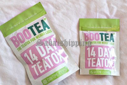 2 Set BOOTEA 14 DAY THE TEATOX FOR WEIGHT LOSS DAYTIME & BEDTIME TEA SET