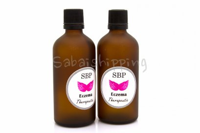 SBP BRAND GET RID OF ECZEMA THERAPEUTIC ONCE AND FOREVER ECONOMY SET 200 ML.