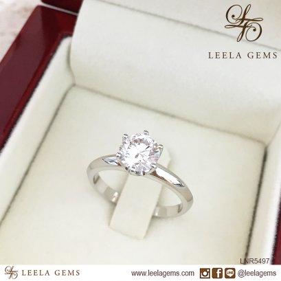 แหวนหมั้นเพชร Premium size