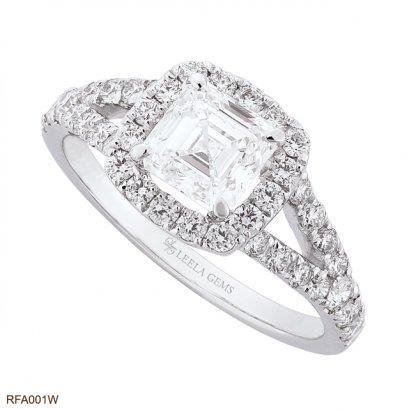 แหวนเพชร Asscher