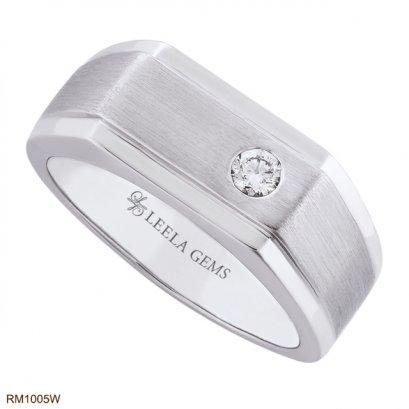 แหวนแต่งงานเพชรชาย