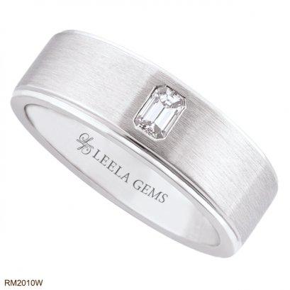 แหวนชาย เพชร Emerald