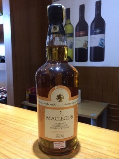 Macleod's Highland Single Malt 70cl