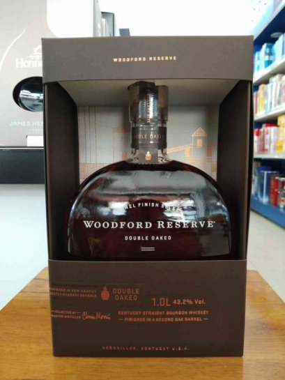 Woodford Reserve Double Oaked 1L (43.2%acl)