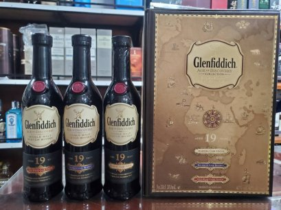 Glenfiddich 19y 20cl x 3bottles