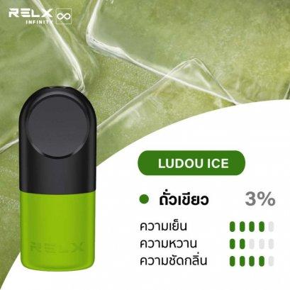 Relx Infinty Ludou Ice ( ถั่วเขียว )