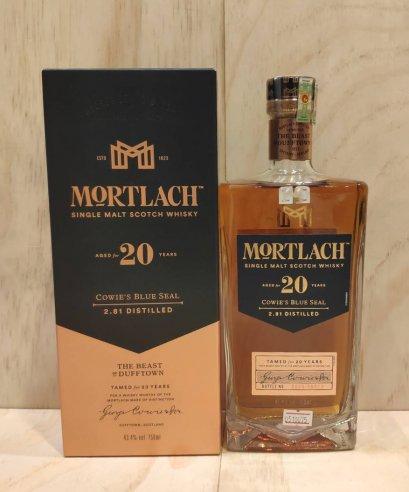 Mortlach 20y 750ml