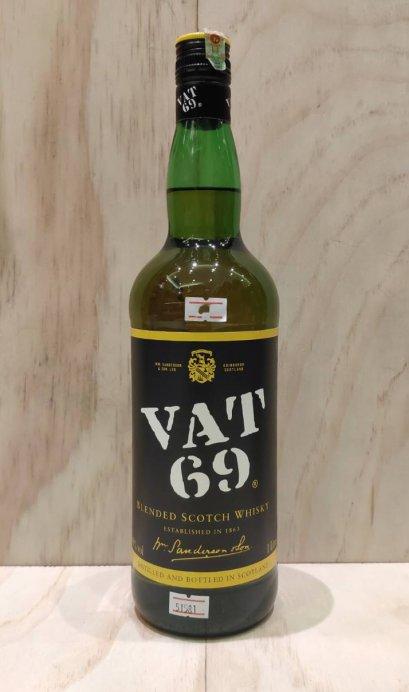 VAT 69 Blended Scotch Whisky 1L