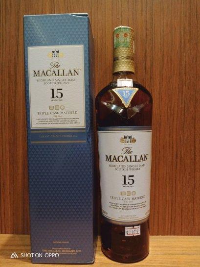 Macallan 15y Triple Cask 700ml