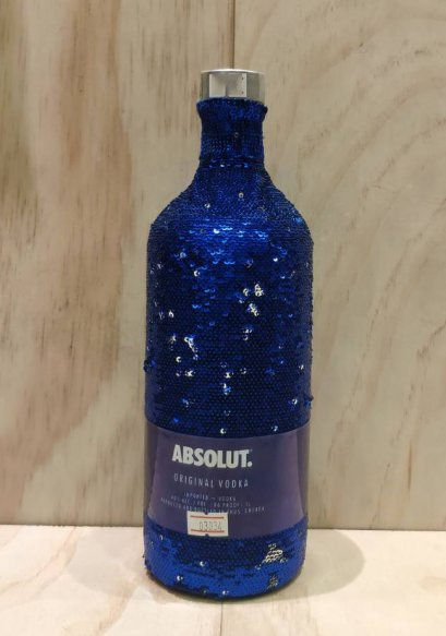 Absolut Uncover Sequin Limited Edition 1Liter