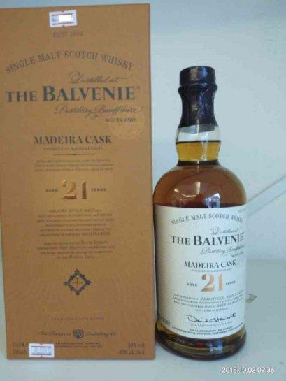 Balvenie 21y PortWood Finish 70cl (40%)