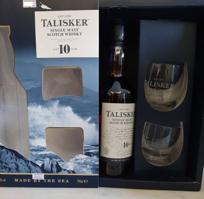 Talisker 10y Glass Ed 70cl
