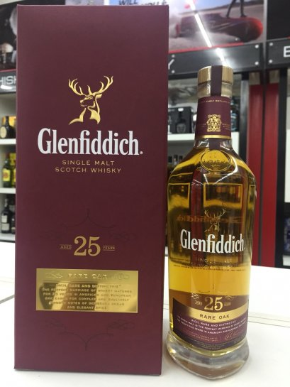 Glenfiddich 25y Rare Oak 70cl (43%)