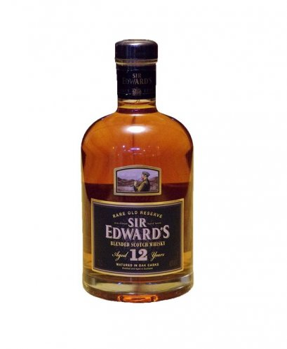 Sir Edward's 12 Years Blended Scotch Whisky (75cl)
