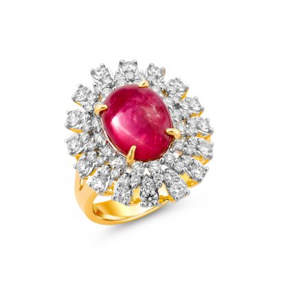 แหวนทับทิม B692