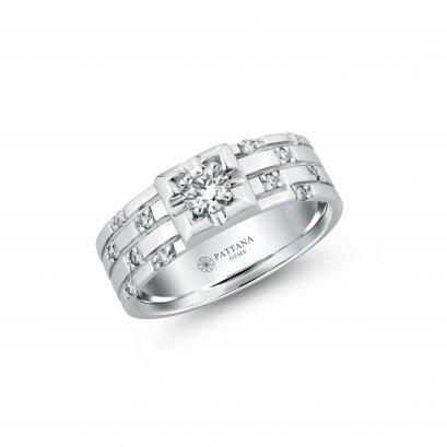 แหวนเพชรผู้ชาย A5035