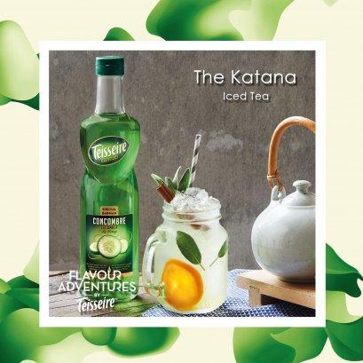 """"""" THE KATANA """" Iced Tea"""