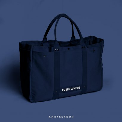 Supermarket Bag : Navy