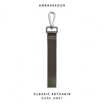 CLASSIC KEYCHAIN - DARK GREY