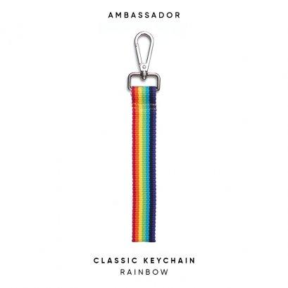CLASSIC KEYCHAIN - RAINBOW