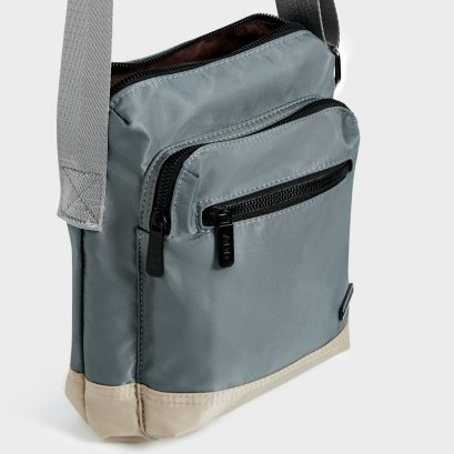 WEEKEND SIDE BAG : Steel