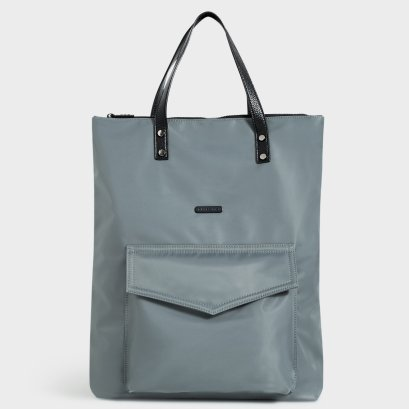 WEEKEND TOTE BAG : Steel