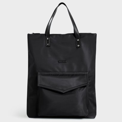 WEEKEND TOTE BAG : Black