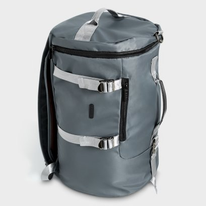 WEEKEND TRAVEL BAG : Steel