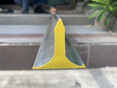 สามเหลี่ยมปาดปูน สามเหลี่ยมฉาบปูน หนาสุด ทนสุด ใช้ได้สามมุม (รุ่นใหม่) ขนาด 1.8ม.