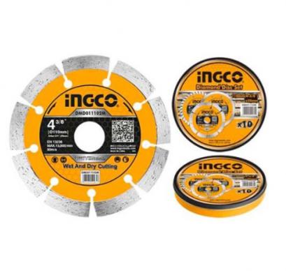 "INGCO ใบเพชร 4"" แห้ง (1SET/10PCS) รุ่น DMD011102M"