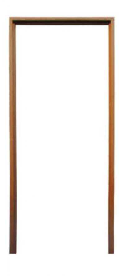 """วงกบประตูไม้เนื้อแข็ง 2""""x4"""" ขนาด 1.00x1.50m."""