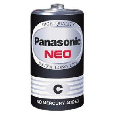 ถ่าน C ดำ Panasonic (1กล่องมี 24 ก้อน)