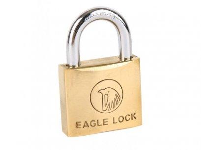 """กุญแจทองเหลือง ตรา หัวนก 1"""" 25mm."""