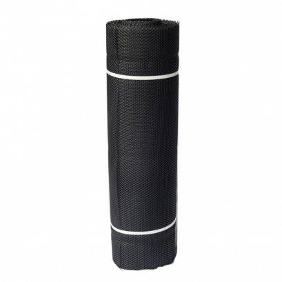 ตาข่ายหกเหลี่ยม PVC #330 9*90 ซม. สีดำ