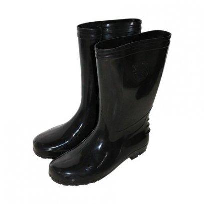 """รองเท้าบูทสูง สีดำ สูง12"""" เบอร์ 9.5"""