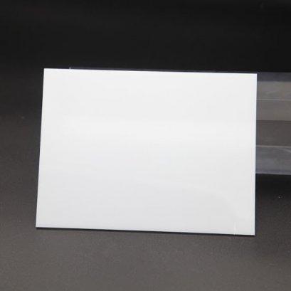 แผ่นอะคริลิค สีขาว M433 ขนาด 53 x 290 x หนา 6mm.