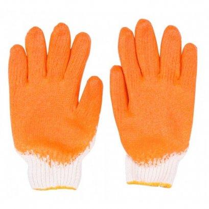 ถุงมือผ้าเคลือบยางพารา