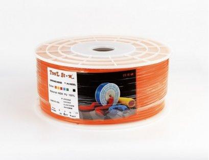 สายลม PU 10X6.5 (สีส้ม) 100เมตร/ม้วน