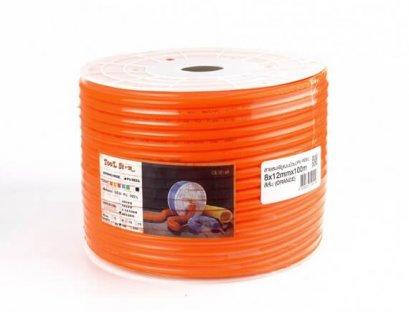 สายลม PU 12X8 (สีส้ม) 100เมตร/ม้วน