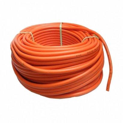สายเชื่อม ขนาด 35SQ.MM. สีส้ม (25เมตร/ม้วน)