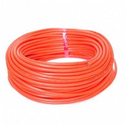 สายเชื่อม สีส้ม 50 SQMM (100เมตร/ม้วน)