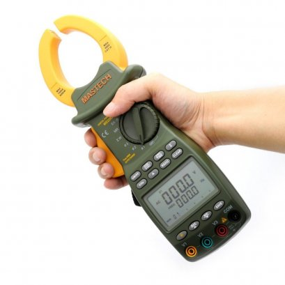 เครื่องวัดกำลังไฟฟ้า Digital Power Clamp Meter MS2203