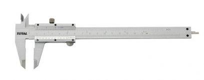 """เวอร์เนียร์เหล็ก TOTAL 8"""" (200 mm.) 120g. TMT 312001"""