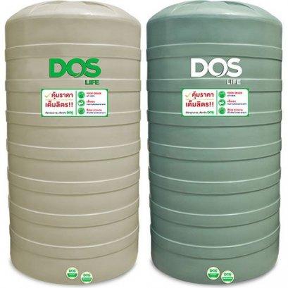 DOS ถังเก็บน้ำ PORCIO 4000L.