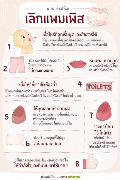 8 วิธีเลิกแพมเพิส